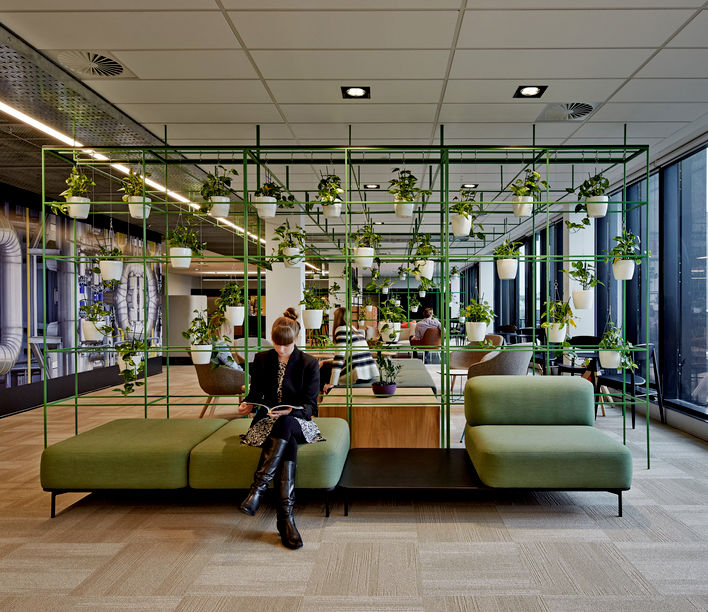 Aurecon, Perth. Designed by HASSELL. Photography by Bennetts Studio