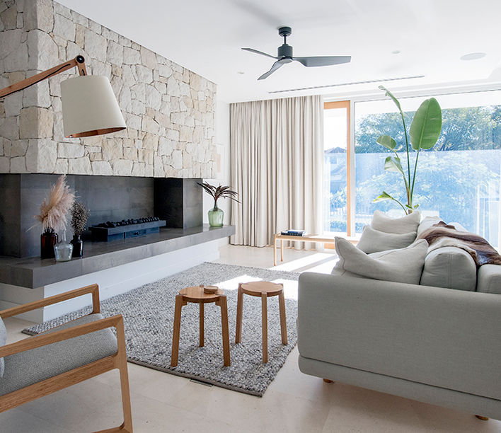 Cottesloe Home - Malvina Stone Design. Photography: Jody D\'Arcy