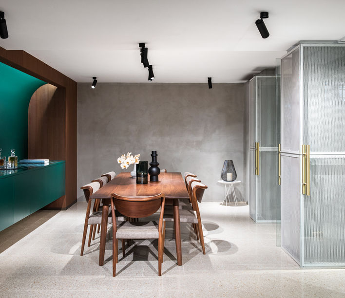 StylecraftHOME showroom, Melbourne. Designed by HASSELL, photography by Nicole England