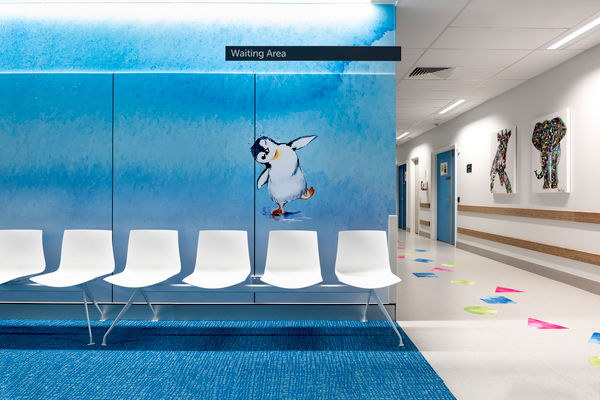 Perth Children's Hospital, Cameron Chisholm Nicol. Photography: Dion Robeson