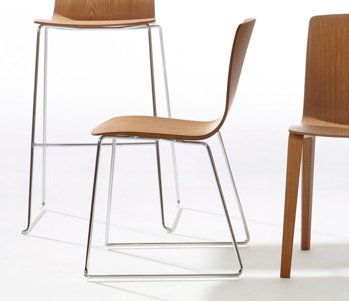 Arper | Aava Sled Chair | Exclusively available from Stylecraft