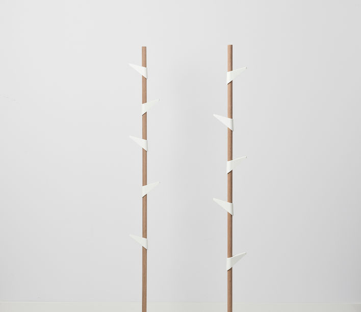 Bamboo Coat Stand 4