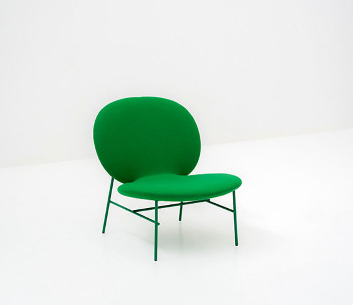 Kelly Easy Chair by Tacchini