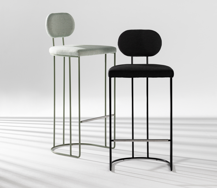 ACP Atelier   Sedis Stool   Available exclusively from Stylecraft