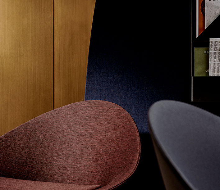 Arper | Adell 4 Leg Timber Chair | Available exclusively from Stylecraft