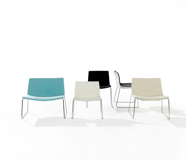 Arper | Catifa 60 Low Back Lounge | Exclusively available from Stylecraft