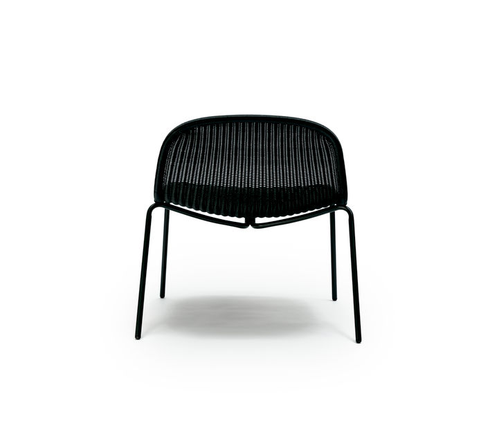 Feelgood Designs | Edwin Lounge Chair in Charcoal Polyethylene | Available from Stylecraft