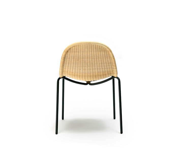 Feelgood Designs | Edwin Stackable Chair in Natural Rattan | Available from Stylecraft