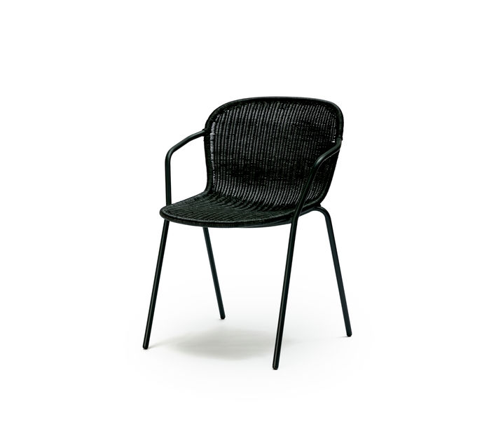 Feelgood Designs | Elliot Chair in Black Rattan | Available from Stylecraft