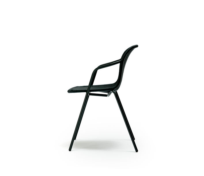 Feelgood Designs | Elliot Chair in Charcoal Polyethylene | Available from Stylecraft
