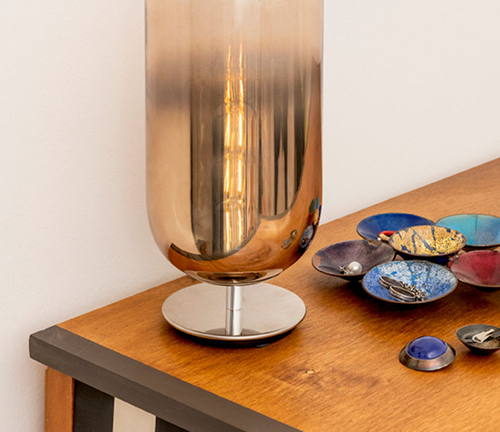 Gople Table   Artemide Design   Available exclusively from Stylecraft