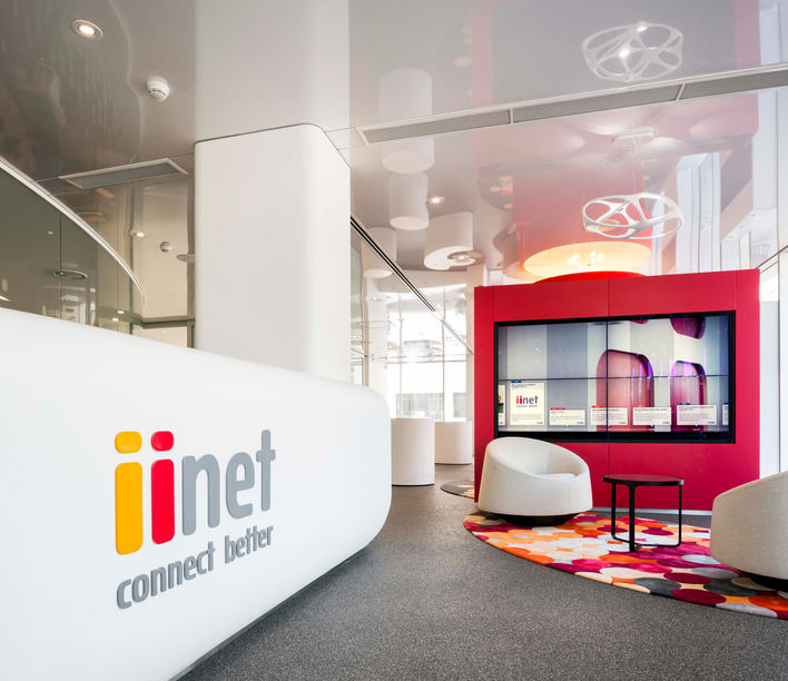 iinet, designed by Valmont
