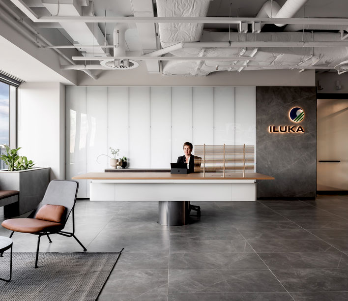 Iluka Resources, Perth, WA | Designed by Geyer | Photography by Dion Robeson