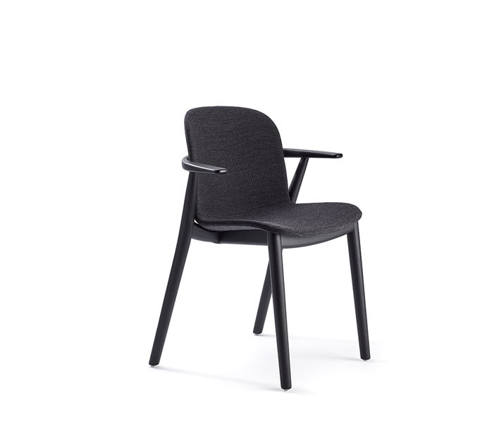 Infiniti Design   Relief 4 Leg Timber Chair   Exclusively available from Stylecraft