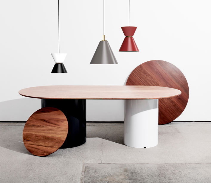 Neatt. | Dolio Tables and Alcum Pendant | Exclusively available from Stylecraft