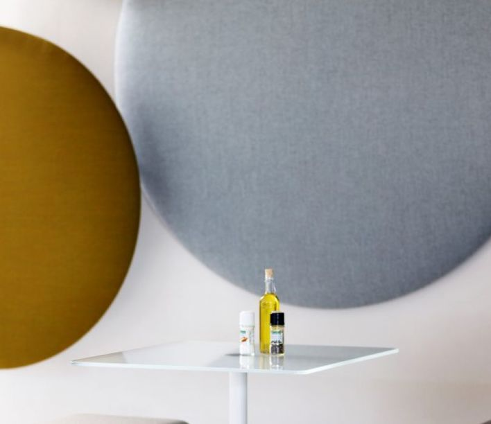 Cascando   Pillow Round Wall Panel   Exclusively available from Stylecraft