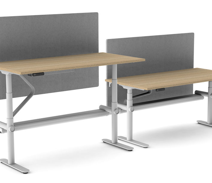 Thinking Works | Stix Workstation | 2 Person Side-to-Side | Exclusively available from Stylecraft