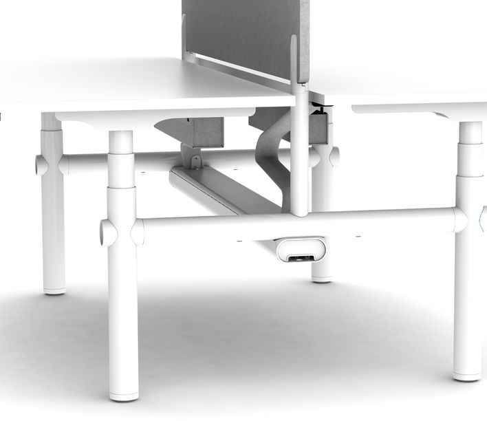 Thinking Works | Stix Workstation | Side Profile | Exclusively available from Stylecraft