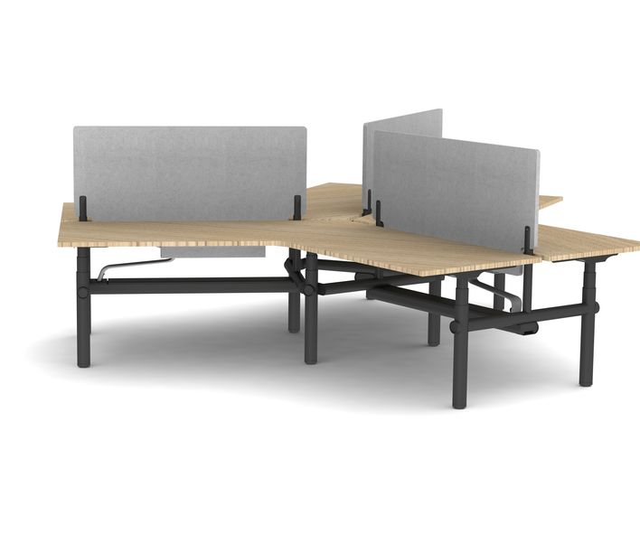 Thinking Works | Stix Workstation | 3 Person Configuration | Exclusively available from Stylecraft