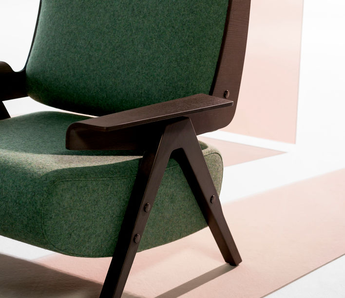 Lina Armchair by Gianfranco Frattini for Tacchini