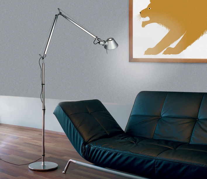 Tolomeo Floor Light | Artemide Design | Available exclusively from Stylecraft
