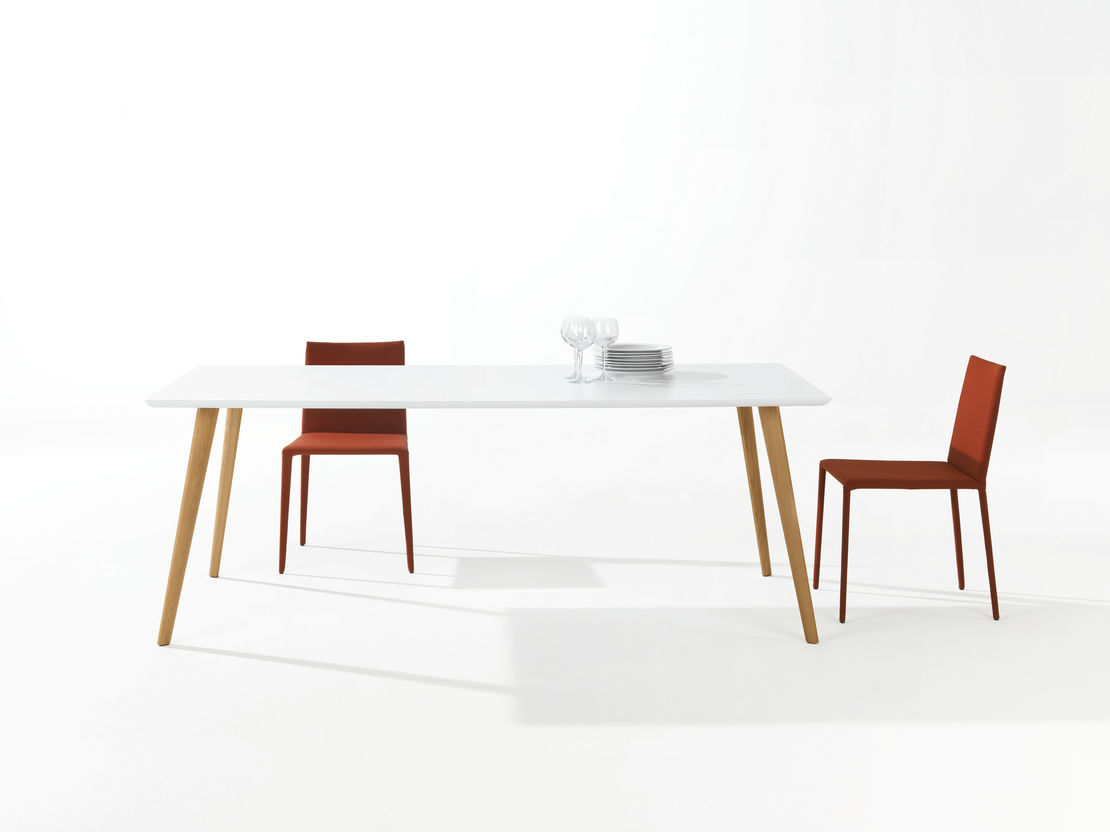 Arper   Gher Table   Exclusively available from Stylecraft