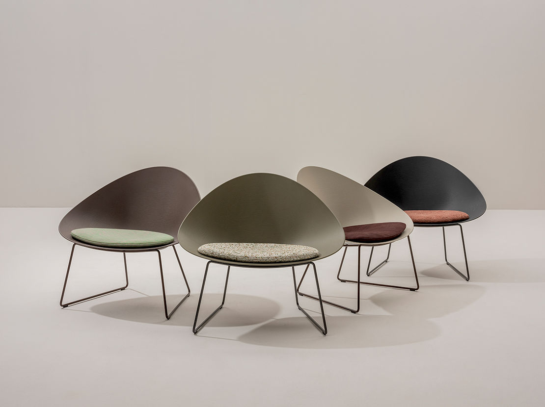 Arper | Adell Sled Chair | Available exclusively from Stylecraft