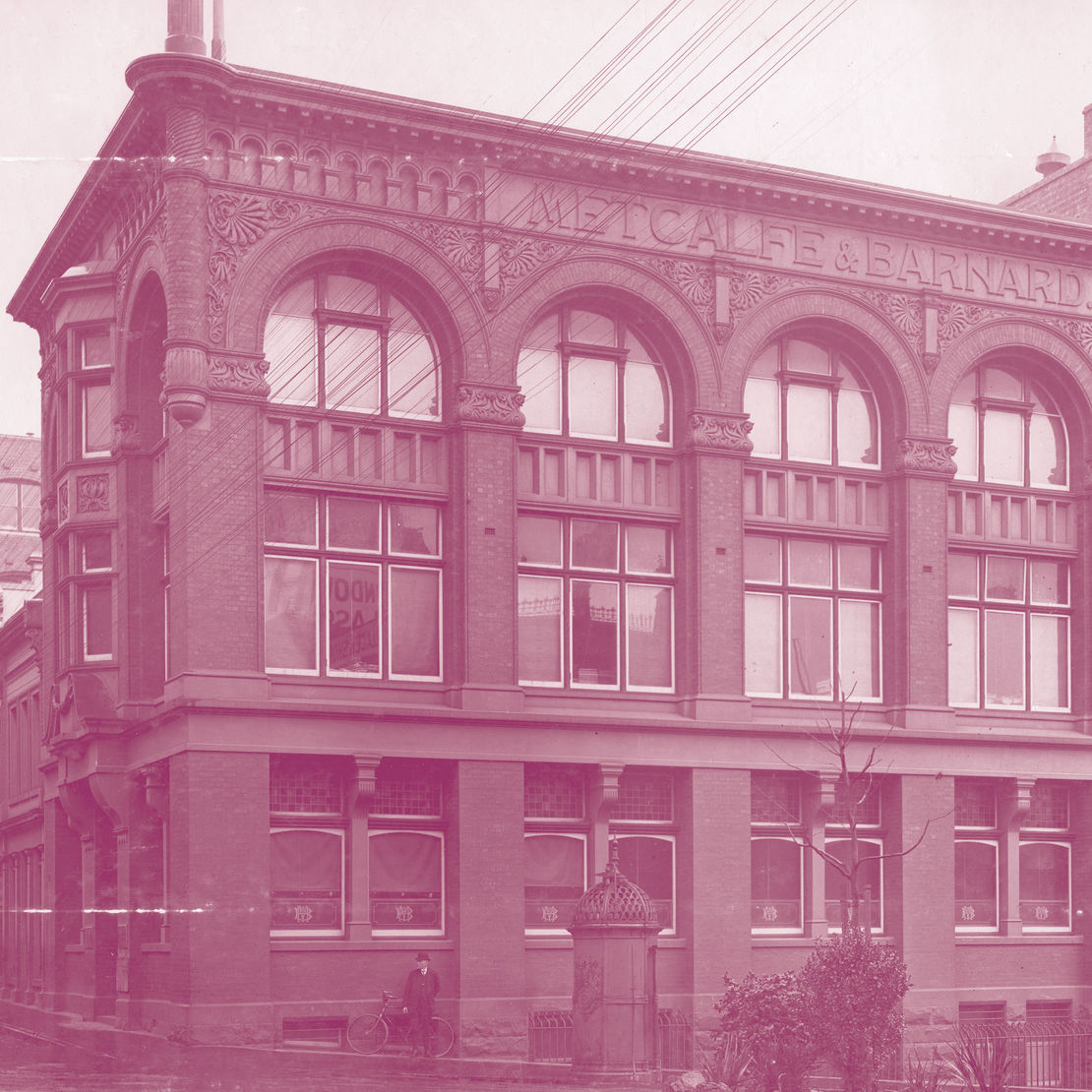145 Flinders Lane in approx 1913. Image: University of Melbourne Archives