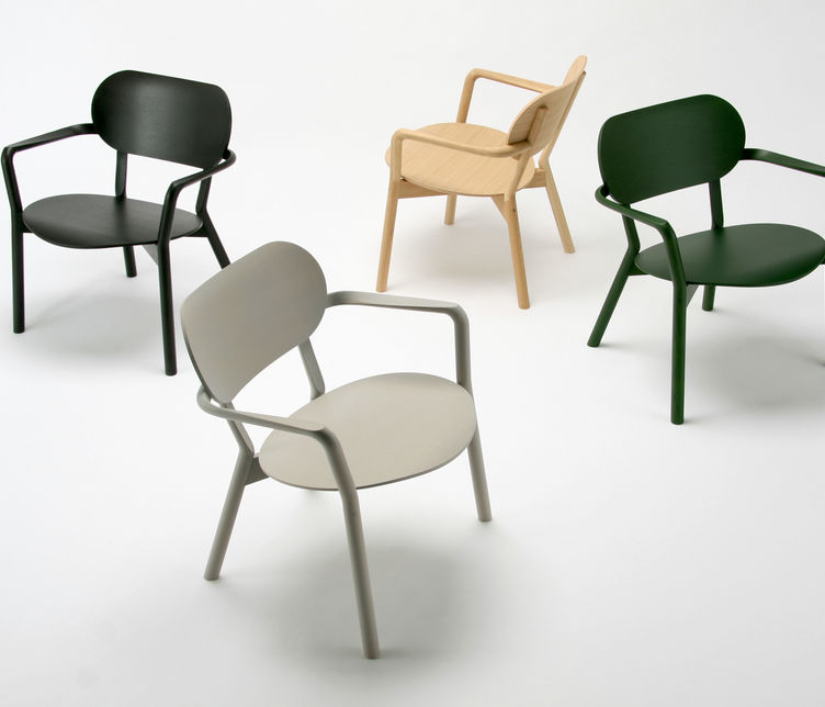 Castor Low Armchair