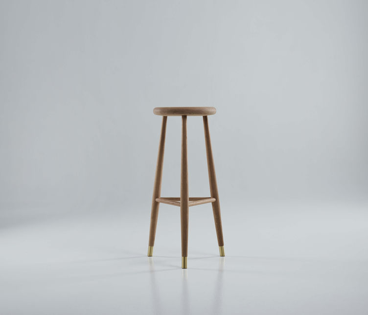 Jaer Stool | Eikund | Available exclusively from Stylecraft